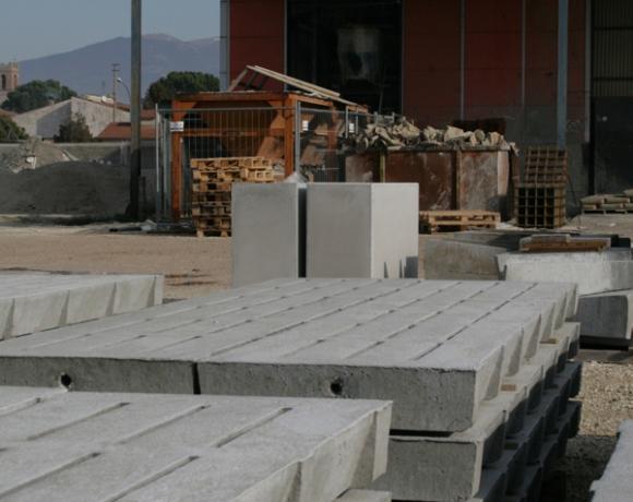 Cps manufatti prefabbricati in cemento prodotti for Arredo giardino in cemento